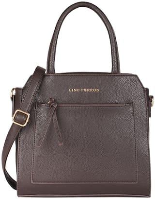 Lino Perros Brown Coloured Handbag