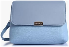 Lino Perros Blue Coloured Sling Bag