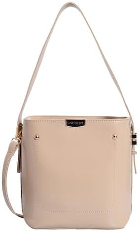 Lino Perros Womens Beige Handbag