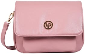 Lino Perros Pink Coloured Sling Bag