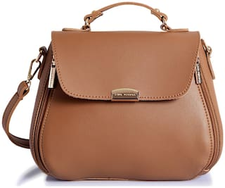 Lino Perros Beige Coloured Handbag