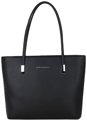 LINO PERROS BLACK HAND BAG With Women Lino Perros Wallet FREE