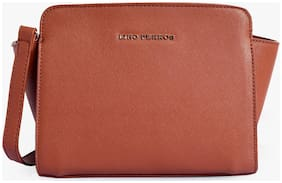 Lino Perros Tan Coloured Sling Bag