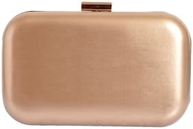 Lino Perros Golden Womens Clutch