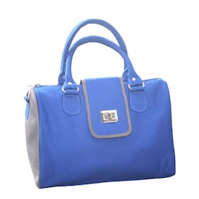 Lost & Found Canvas Women Handheld Bag - Blue