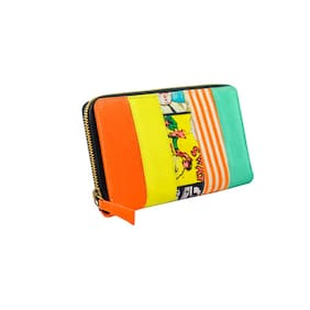 Lost & Found Women Canvas Wallet - Multi