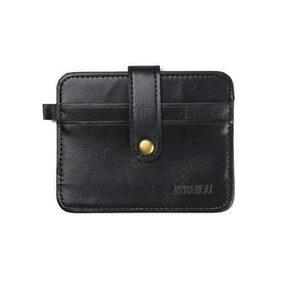 Luxury Retro Mens Leather Clutch Billfold Wallet Credit ID Card Slim Purse BK
