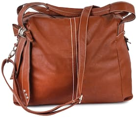 Lychee Bags Multi Faux Leather Handheld Bag