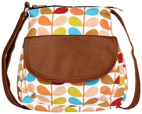 Lychee bags Multi Canvas Solid Sling Bag
