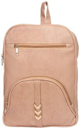 Lychee bags Pink PU Backpack