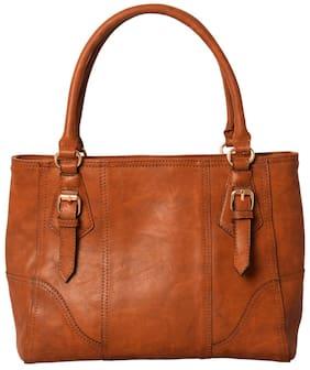 Lychee Bags Brown Handbag