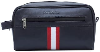 MBOSS 3 Liter Black Toiletry Bag Pouch Organizer Travel Bag TP 001 BLACK STRIPE