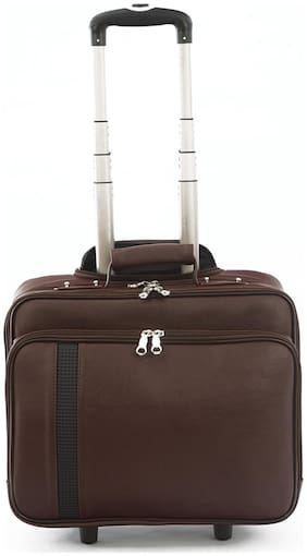 Mboss Brown Laptop Strolley Bag ONT022