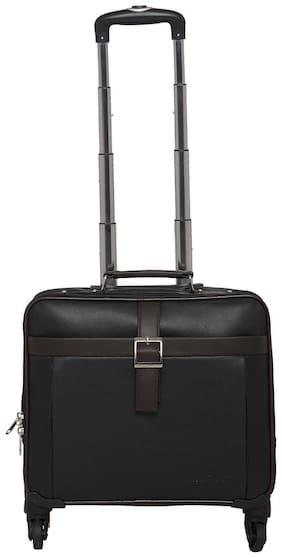 Mboss Overnight Laptop Trolley Bag Ont 052 Black Brown