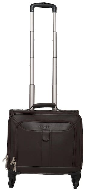 Mboss Overnight Laptop Trolley Bag Ont 053 Brown