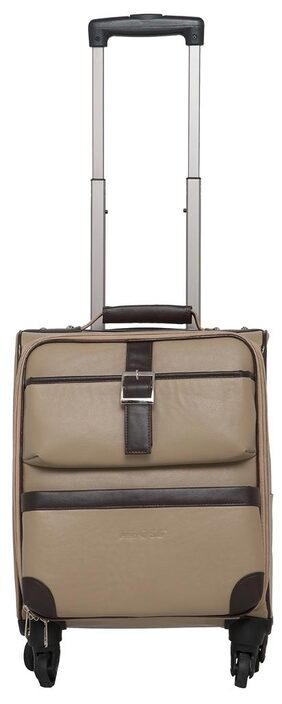 Mboss Overnight Laptop Trolley Bag Ont 081 Ivory Brown