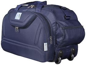 MEDLER (expandable) DUFFEL-EPOCH-NAVY Cabin Size Duffel Strolley Bag (Navy Blue)