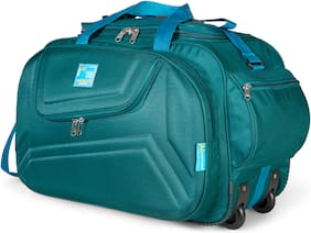 MEDLER (Expandable) Voltage Travel Duffle Strolley Bag (Turquoise)