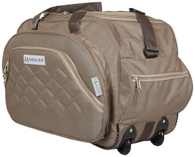 MEDLER (expandable) DUFFELPRO-BEIGE TRAVEL DUFFEL STROLLY BAG