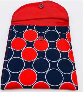 Meher Collection Multi Color Double pocket with Red Lining