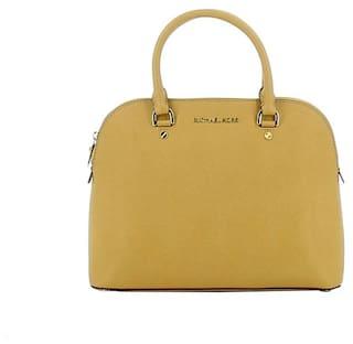 13911657524f Buy Michael - Michael Kors Women Solid Leather - Sling Bag Beige ...