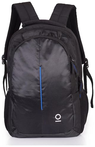 Milestone 22 ltr Blue Polyester Laptop backpack