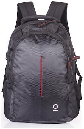 Milestone 22 ltr Red Polyester Laptop backpack