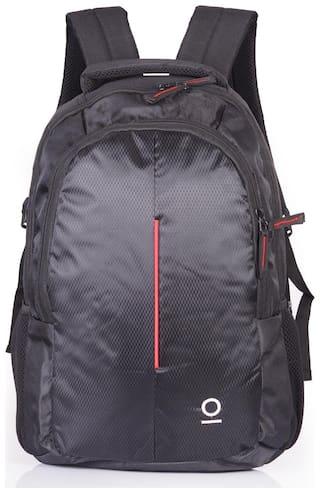 Milestone 22 ltr Red Polyester Laptop backpack