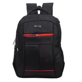 Milestone Star USB Laptop Backpack (Black)