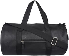 MOODY MAX Faux leather Men Gym bag - Black