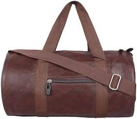 MOODY MAX Faux leather Men Gym bag - Brown