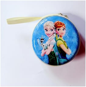 Movitronix Very Stylish Imported Frozen Headphone/Coin Purse for Office goers;Ladies and College Girl Pack of 1
