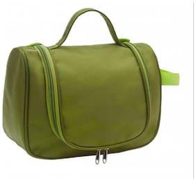 Multi Function Women Cosmetic Makeup Bag Travel Storage Bag Hanging Toiletries Bag Organizer Bag Waterproof - Green