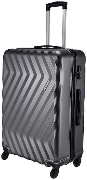 Nasher Miles Large Size Hard Luggage Bag - Grey , 4 Wheels