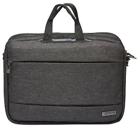 "Neopack Willman Series Portfolio Lapatop Bag for all upto 15.4"" Laptops & Macbooks - Black Twill"