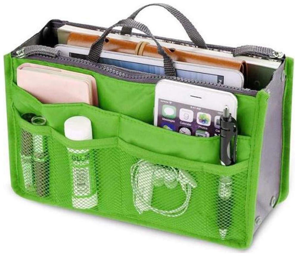 NEW BEST QUALITY Women Multipurpose Makeup Cosmetic Organizer/Travel Cosmetic Toiletry Bag Organizer/Handbag Travel Purse Toiletry Pouch