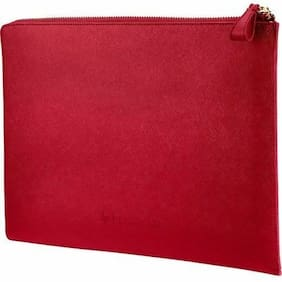 NEW HP 2HW35AA#ABB Spectre 33.78 cm (13.3) Split Leather Sleeve (Empress Red)