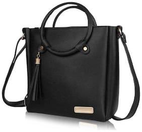 Medium Sling Bag ( Black )
