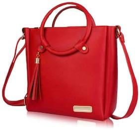 Medium Sling Bag ( Red )