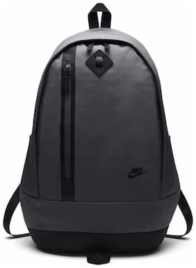 Nike Grey Waterproof Polyester Backpack