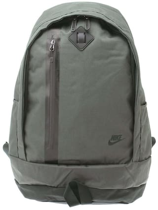 98f7c1ec0 Buy Nike Grey Polyester Backpack Online at Low Prices in India ...
