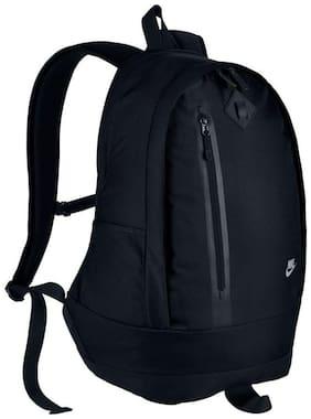Nike Black Waterproof Polyester Backpack