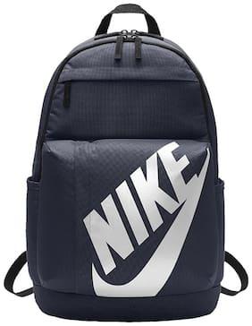 Nike Blue Polyester Backpack