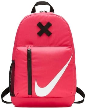 Nike Pink Waterproof Polyester Backpack