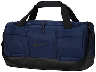 f21b43f290ee17 Buy Nike Polyester Men Duffle Bag - Blue Online at Low Prices in ...