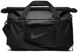 32e4d76c33f3 Buy Nike Polyester Men Duffle Bag - Black Online at Low Prices in ...