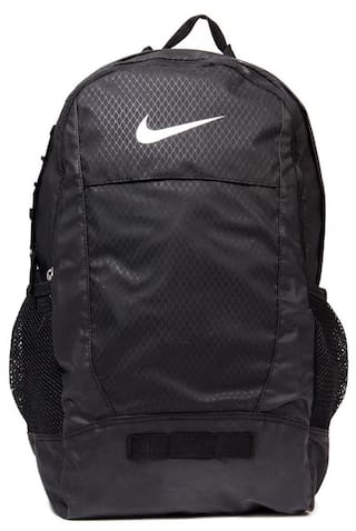 13bdc40206fb Buy Nike Polyester Black Backpack Online at Low Prices in India ...