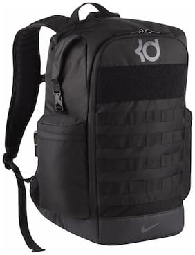 Nike Black Waterproof Polyester Backpack