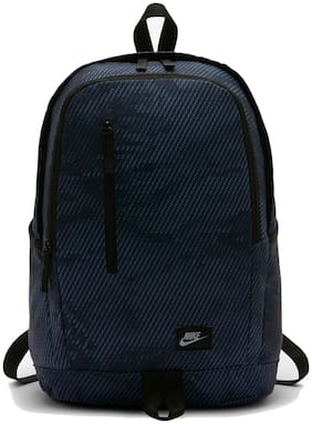 Nike Blue Polyester Backpack