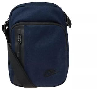 Buy NIKE Unisex Navy Blue Tech Small Items Sling Backpack Online at ...
